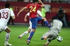 FC Steaua Bucharest - FC Rapid Bucharest Royalty Free Stock Photos