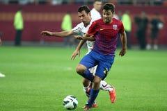 FC Steaua Bucharest - FC Rapid Bucharest Royalty Free Stock Photo