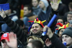 FC Steaua Bucharest - FC Stuttgart Royalty Free Stock Photos