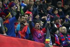 FC Steaua Bucharest - FC Stuttgart Royaltyfri Foto