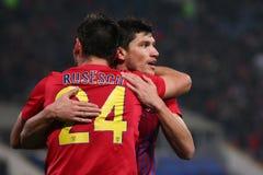 FC Steaua Bucharest - FC Turnu Severin Royalty Free Stock Photography