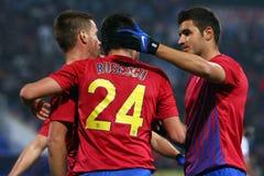 FC Steaua Bucharest - FC Turnu Severin Royalty Free Stock Photos