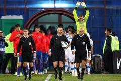 FC Steaua Bucharest - FC Turnu Severin Royalty Free Stock Images