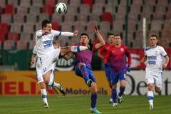 FC Steaua Bucharest - FC Turnu Severin Stock Photography