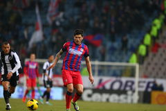 FC Steaua Bucharest - U Cluj Stock Photo