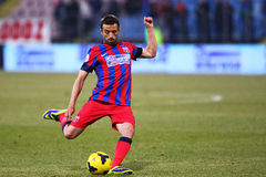 FC Steaua Bucharest - U Cluj Royalty Free Stock Photo