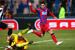 FC Steaua Bucharest - U Cluj Stock Photos