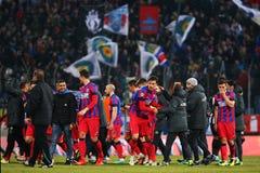 FC Steaua Bucharest - U Cluj Stock Image