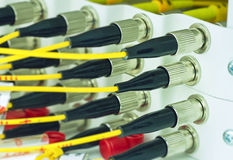 FC type optical fiber Royalty Free Stock Photography