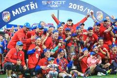 FC Viktoria Plzen Fotografia Stock