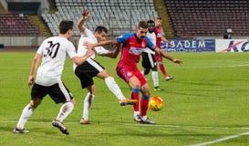 FC Voluntari - Steaua Bucuresti Royaltyfria Foton