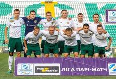 FC Vorskla波尔塔瓦 库存照片