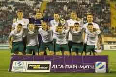 FC Vorskla 库存照片