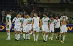 FC Vorskla Poltava team Royalty Free Stock Photography