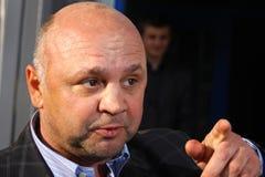 FC Zakarpattya Uzhgorod manager Igor Gamula Stock Images