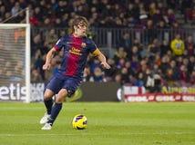FCB de Carles Puyol foto de archivo