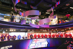 FCB Sport mall - Barcelona, Spain Royalty Free Stock Photography