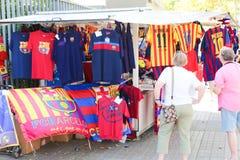 FCB Sport mall - Barcelona, Spain  Royalty Free Stock Photo