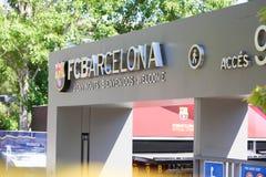 FCB Sport mall - Barcelona, Spain Stock Photo