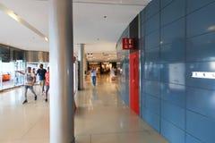 FCB Sport mall - Barcelona, Spain. Tourists enjoy at FCB Sport mall - Barcelona, Spain Stock Photos
