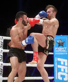 FCC Final Fight Championship. Zagreb, 17.12.2016 - Fight show FFC 27 Final Fight Championship in Arena Zagreb, December 17. 2016. FFC fight between Tigran Royalty Free Stock Image