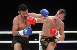 FCC Final Fight Championship. Zagreb, 17.12.2016 - Fight show FFC 27 Final Fight Championship in Arena Zagreb, December 17. 2016. FFC fight between Tigran Stock Images