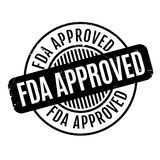 FDA批准的不加考虑表赞同的人 免版税库存照片