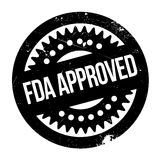 FDA批准的邮票 库存照片