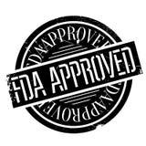 FDA批准的邮票 免版税图库摄影