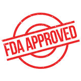 Fda approved stamp Stock Images