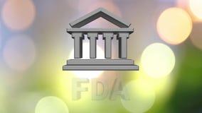 FDA royaltyfri illustrationer