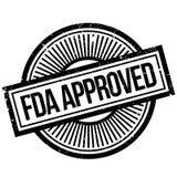 FDA-gebilligter Stempel Lizenzfreie Stockbilder
