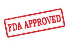 FDA ZATWIERDZAŁ ilustracja wektor