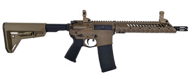 FDE SBR AR15 with 30rd mag Royalty Free Stock Photo