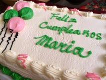 födelsedag latina Royaltyfri Fotografi