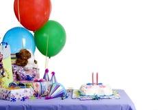 födelsedagdeltagare Arkivbilder