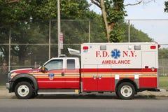 FDNY救护车 免版税图库摄影
