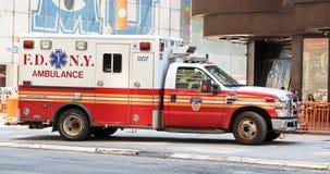 FDNY-ambulans Fotografering för Bildbyråer
