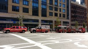 Fire Department, FDNY, NYC, NY, USA Royalty Free Stock Photos