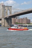 FDNY Fire Rescue Boat Royalty Free Stock Photography