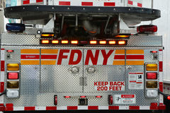 FDNY Fire Truck Royalty Free Stock Photos