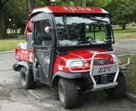 FDNY Haz-Mat Kubota RTV Utility Vehicle near National Tennis Center Stock Image