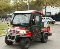 FDNY Haz-Mat Kubota RTV Utility Vehicle near National Tennis Center during US Open 2013 Royalty Free Stock Photo