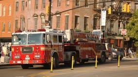 FDNY Ladder Company 118在布鲁克林 库存图片