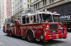 FDNY Ladder Company 21 in midtown Manhattan Royalty Free Stock Photo