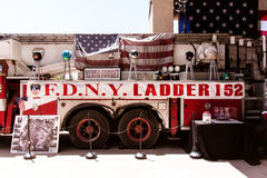FDNY Memorial fire truck Stock Images