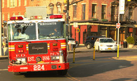 FDNY-Motor 224 in Brooklyn Royalty-vrije Stock Foto