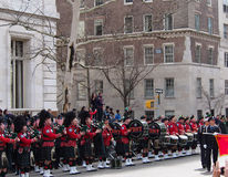 FDNY Pipe Band Stock Photo
