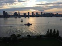 FDNY sul Hudson immagini stock libere da diritti