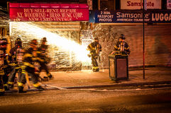 Fdny At Times Square I Royalty Free Stock Images